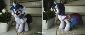 Handmade OC 'Demon Butler' Plushie by HipsterOwlet