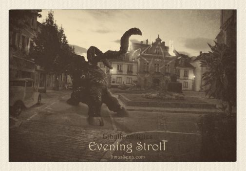 Cthulhian Rites - Evening Stroll by ftmassana