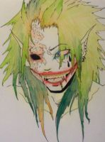 The Joker from Hell by FoxFireXia