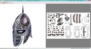Skyrim stormcloak or guard helmet papercraft by rundown-projects