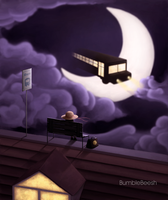 Night passenger by BumbleBeesh