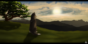 DotW: Sunset Contemplation by MatrixPotato