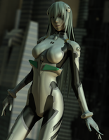 [MMD] Ayanami Rei by Tri-Oxygen-Luka