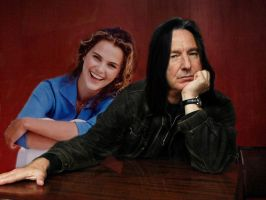 Severus and Hermione by Therapist-in-a-Box
