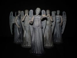 Weeping Angels by CyberDrone