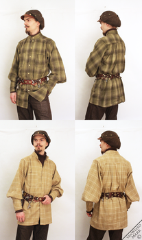 Flannel Shirts for Winter by Marcusstratus
