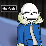 * Sans judges your actions. by RyouichiRenegade