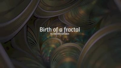 Birth of a flame - fractal timelapse by SaTaNiA