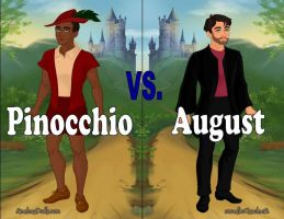 Pinocchio vs. August by Sunshine-Girl524