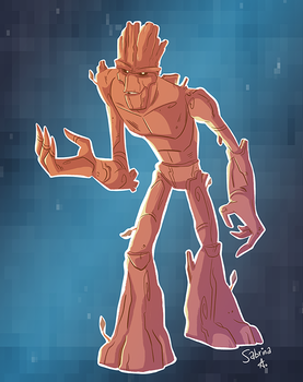 I Am Groot. by Sibsy