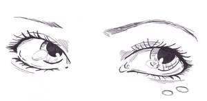 Eye practice by CandraRose