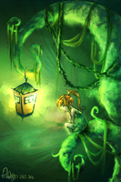 Fairy Lantern by forgottenpantaloons