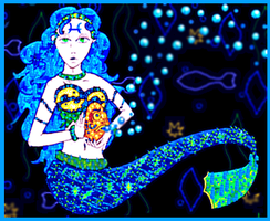 Piscis Mermaid (2012 Collabs) by Dragon-King-Typhon