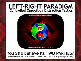 LEFT-RIGHT Laughter by paradigm-shifting