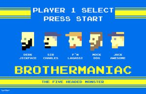 Brothermaniac Aracde by Hartter
