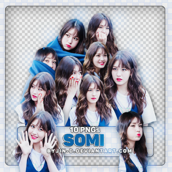 //18062017// Pack Render Somi.IOI by BYjin-D