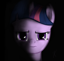 MLP Twilight Sparkle Intense L 20121203 by everypone