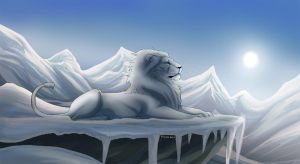 Commission for the North Lion by tigon