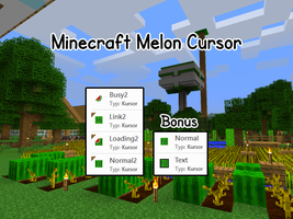 Minecraft Melon Cursor by SoNiC4000