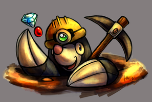 The Miner by Haychel