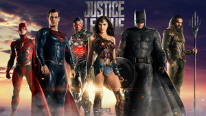 JUSTICE LEAGUE by Davian-Art