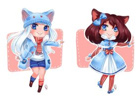 Set Price Winter Adopts , Set 2 [Open] by OlchaS