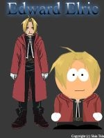 Edward Elric In SouthPark by shintalz