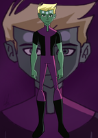 Legion of Superheroes S2: Human Brainiac 5 by Maygirl96