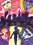 The City of 1000 Masks by Nakayoshi-Takashima