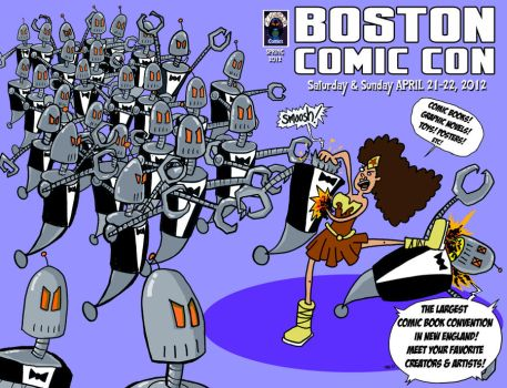 Comic Con 2012 double cover [no blue] by JBinks