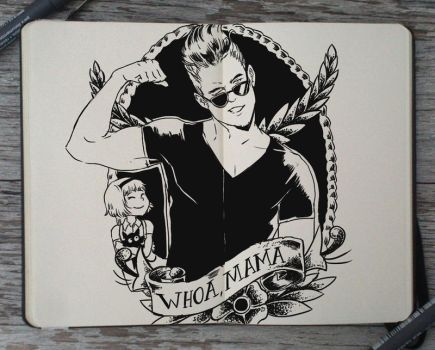 #195 Johnny Bravo by Picolo-kun