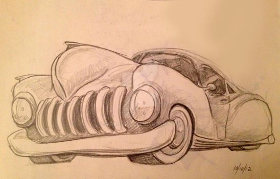 Random Car Sketch by SarahMiele