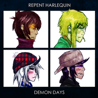 In demon days it's cold inside by repent--harlequin