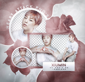 +Xiumin Pack Png. by Heart-Attack-Png