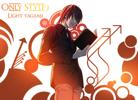 Light yagami wallpaper by ByOnlyStyle