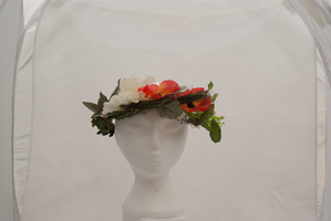 DSC09676 Summer Floral Headdress 2 by wintersmagicstock