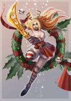 Christmas of Katarina by quanro
