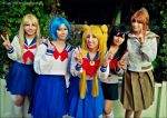 Sailor Moon - cosplay team by Neferet-Cosplay