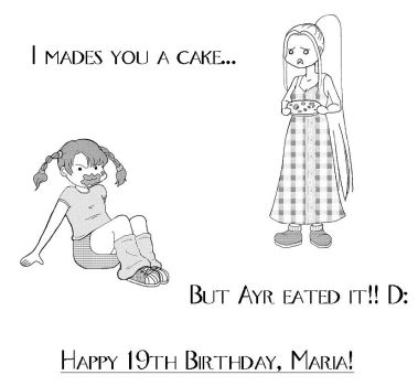 Happy 19th, Maria by FromDeepWithin