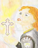 Saint Jeanne d'Arc by Tricia-Danby
