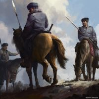 Cossack Riders by ISOTXART