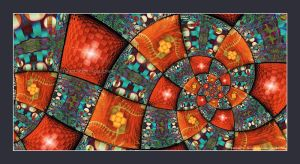 Colourful Patchwork by Velvet--Glove