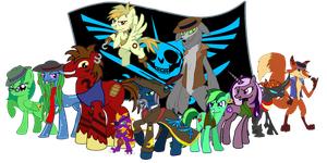 MLP - The Pirates of the Alicorn by Moheart7