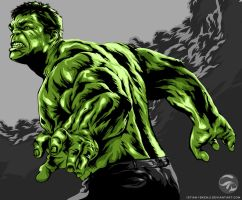 Incredible Hulk is Incredible by istian18kenji