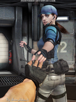 You are so beautiful - Jill Valentine by JhonyHebert