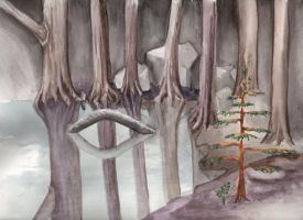 Frio Trees by siobhanleigh