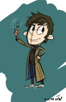 The Doctor Doodles by Marimokun