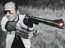 Hunter S. Thompson by Niape