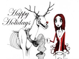 Happy Holidays by chrisbonney
