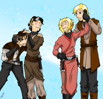 Exiles and their Men by VampiricYoshi